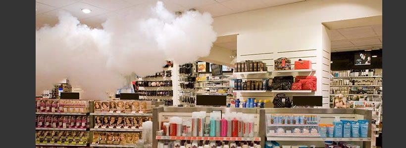 Il furto va in fumo grazie al nebbiogeno gestito AXITEA.