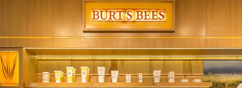 BURT'S BEES new concept store.