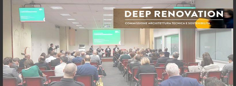 """Seconda edizione del Convegno CNCC """"DEEP RENOVATION""""."""
