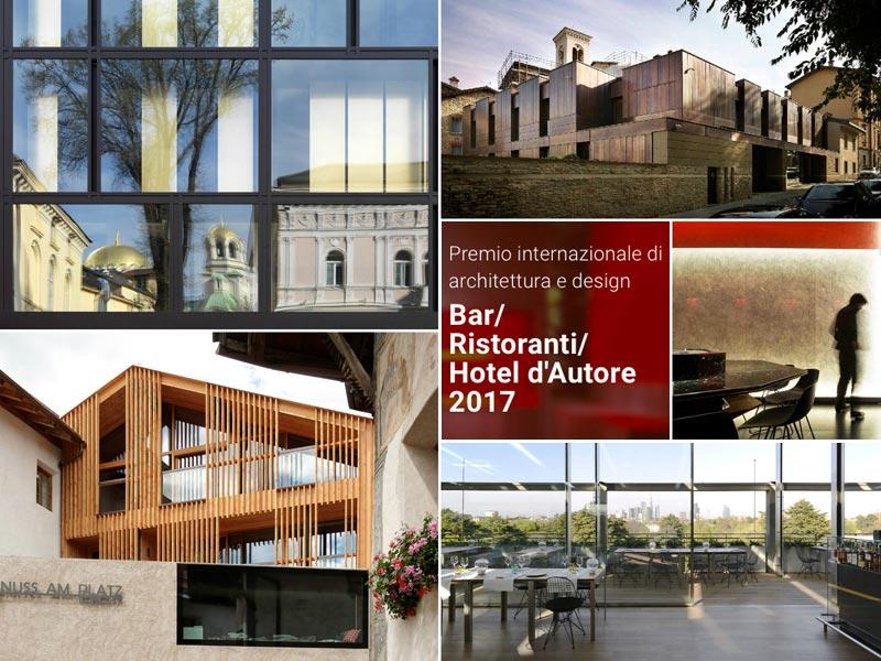 Premio nazionale di Architettura Bar e Ristoranti d'Autore