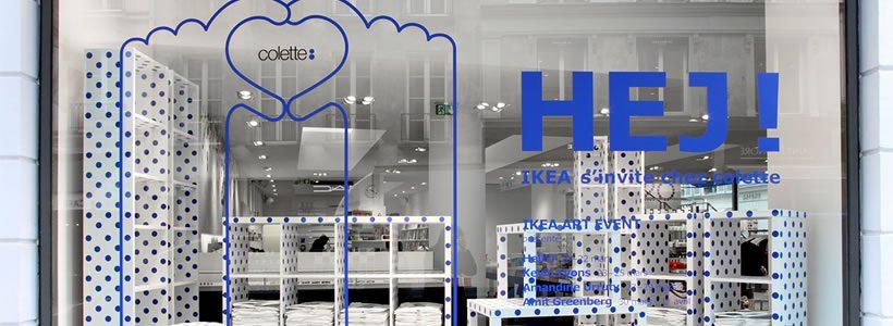 Il mass market di IKEA si trasforma in lusso e sbarca a Parigi.
