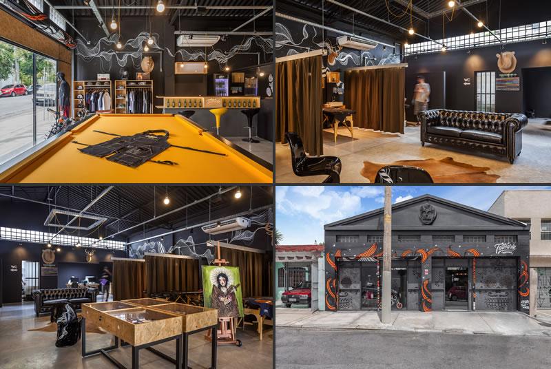 Studio dLux design Tattoaria house