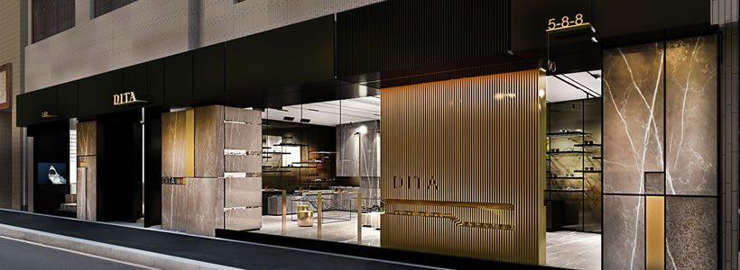 Nuovo flagship store a Tokyo per DITA.