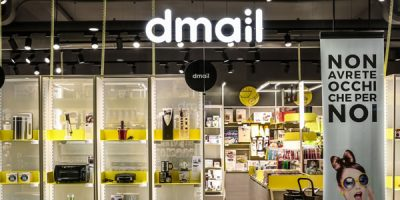 Migliore+Servetto Architects designs the new store format and a new logo for Dmail.