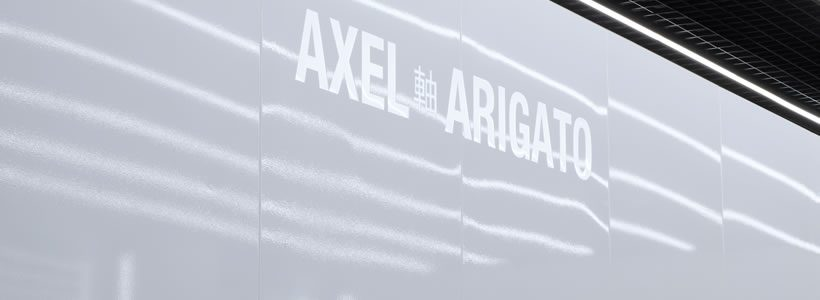 AXEL ARIGATO flagship store, Londra.