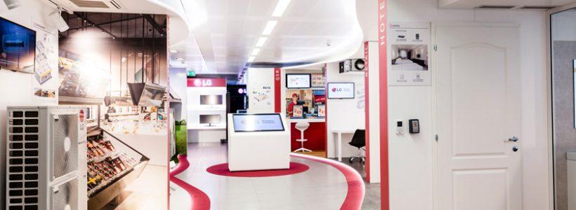 LG ELECTRONICS presenta il nuovo showroom della divisione Air Conditioning