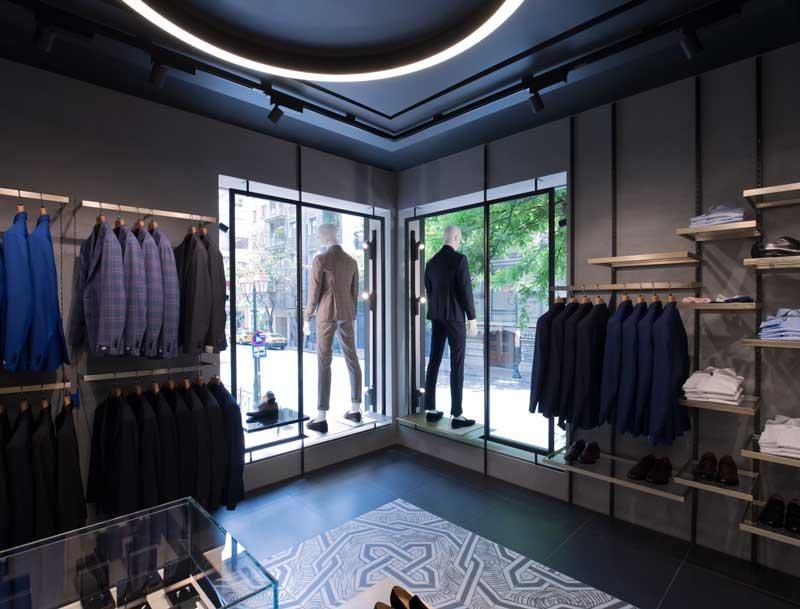 Tailor Store Atene design Meregalli Merlo