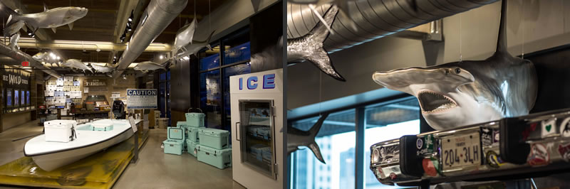 Yeti flagship store lauckgroup retail design