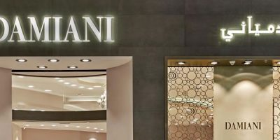 DAMIANI apre una boutique all'interno del Dubai Mall.