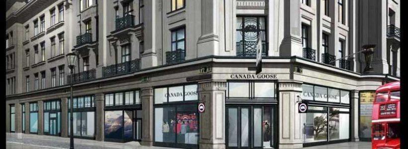 CANADA GOOSE apre negozi a Londra e a Chicago e sviluppa l'e-commerce.