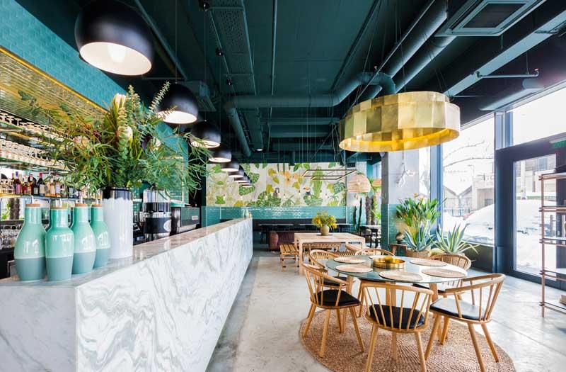 KANE Bar e Ristorante Bogdan Ciocodeica interior designn