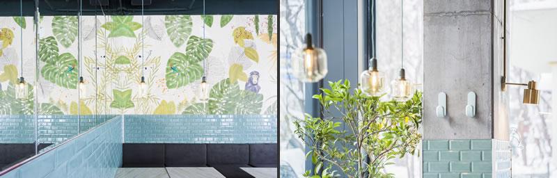 KANE Bar e Ristorante Bogdan Ciocodeica interior design