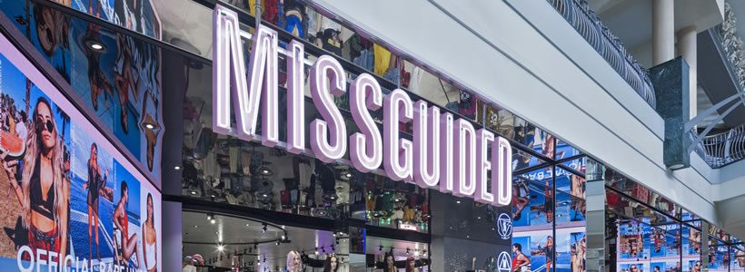 Missguided opens second store in Bluewater shopping centre, Kent.