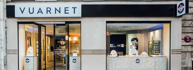 VUARNET opens first Paris boutique.
