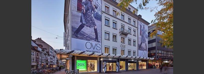 OVS, un flagship store di oltre 1.700 mq nel cuore di Zurigo.