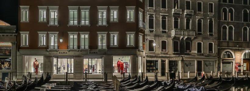 Aperto a Venezia il nuovo flagship store di Zara.