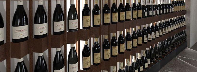 Visual Wine Shop, il nuovo sistema modulare espositivo per bottiglie di vino.