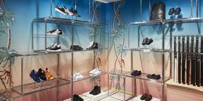 Allestimento esotico per il pop-up Louis Vuitton in Rinascente