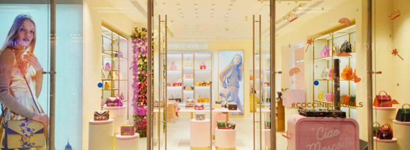 COCCINELLE: nuova boutique a Mosca.