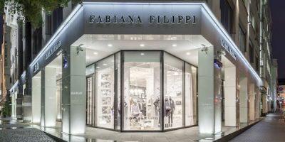 Fabiana Filippi inaugura una nuova boutique a Mosca.