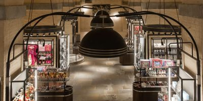 Kinnersley Kent Design re-designs the White Tower store at the Tower of London