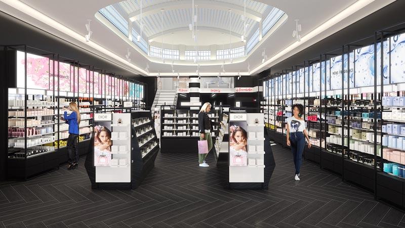 Sephora shopping experience Roma