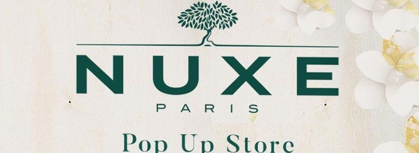 NUXE: primo temporary store a Parigi.