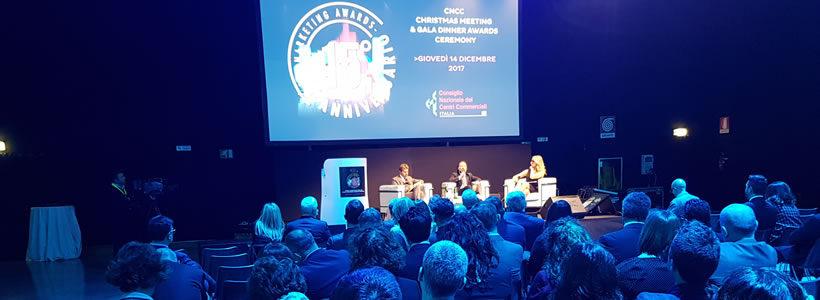 CNCC Christmas Meeting 2017 – Premiazione dei Marketing Awards.