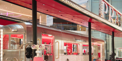 PRADA SILVER LINE: stazione immaginaria per acquisti esclusivi