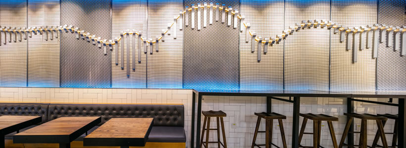 5 Star Plus Retail Design Creates Store Design for The Mission Fresh Grill.