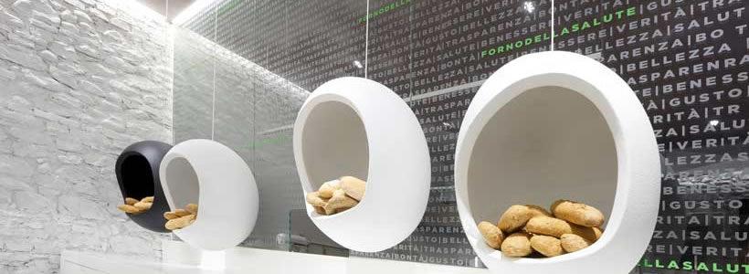 The architect Simone Micheli signed the interior of a new project called Forno della Salute