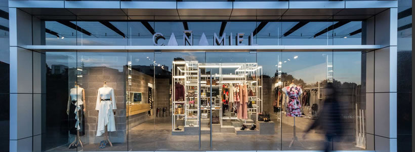 MATERIA designed the CAÑAMIEL concept store in Mexico City.