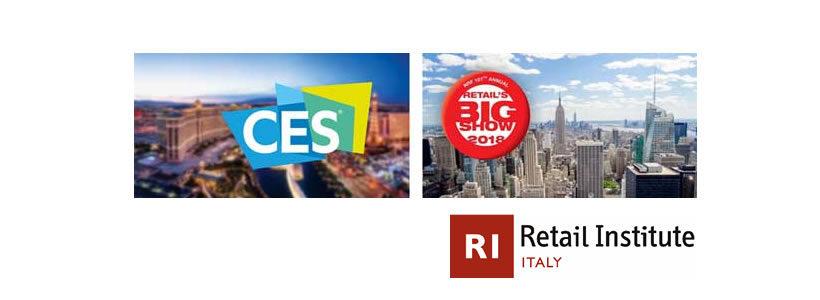 Retail Tech – Trends 2018 | Tutte le novità dall'NRF Retail's BIG Show 2018 e dal CES 2018