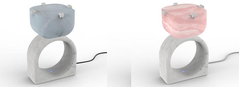 La lampada Alice disegnata da Cristina Celestino a The Material Stage.