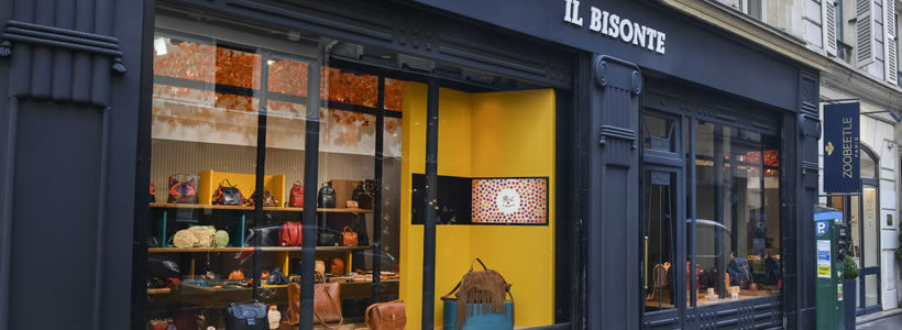 Un pop-up store a Parigi per IL BISONTE.
