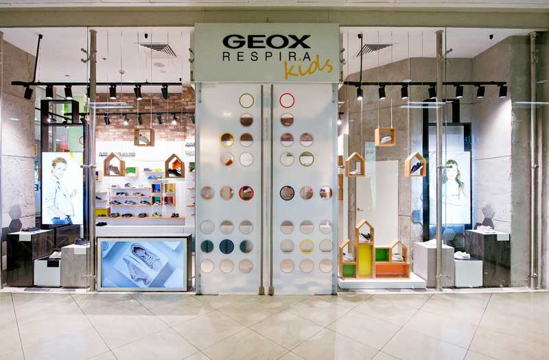 Geox Kids concept store Mosca