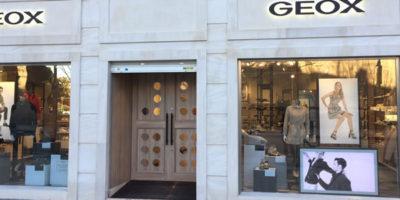 L' X STORE Concept di GEOX sbarca a Madrid.