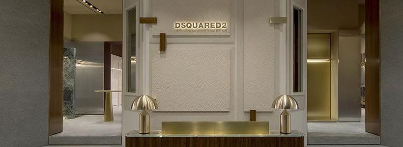 Il nuovo concept store Dsquared2