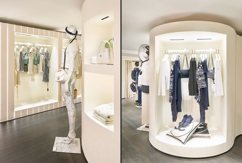 La Boutique Effimera di Chanel pop up store