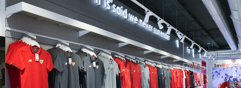 Lo Studio di architettura Marketing Jazz progetta il Siviglia Footbal Club official store