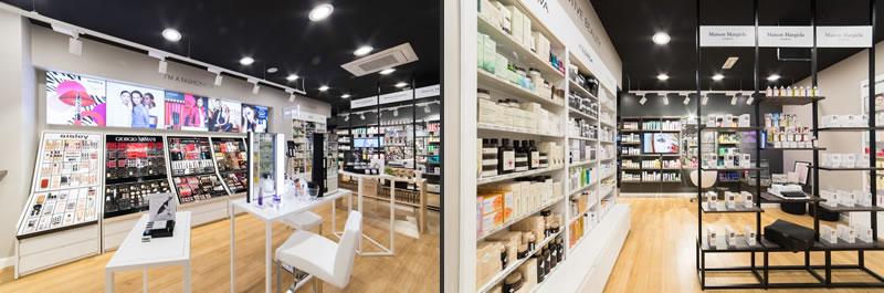 profumeria Marionnaud experimental store Milano corso ventidue marzo