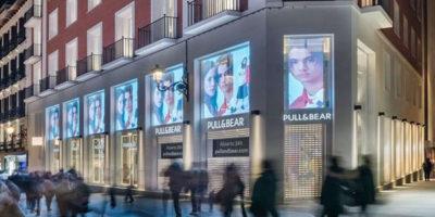 Pull&Bear: aperto a Madrid, in Calle Preciados, il negozio più grande.