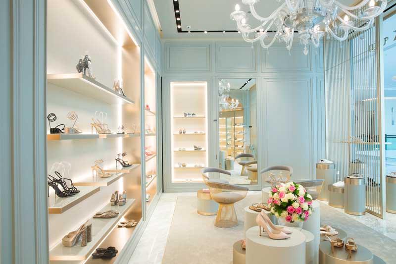 Rene Caovilla flagship store Dubai mall