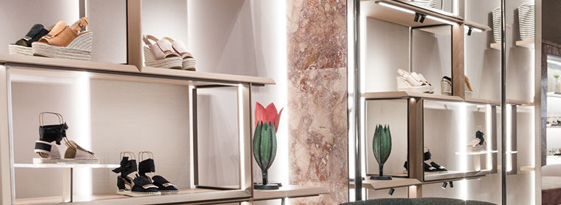 SERGIO ROSSI inaugura la prima boutique a Roma
