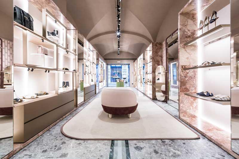 Sergio Rossi boutique Roma via dei Condotti
