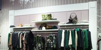 Arkengraf dresses the new Nerodiamante Boutique in Cassino (Frosinone-Italy)