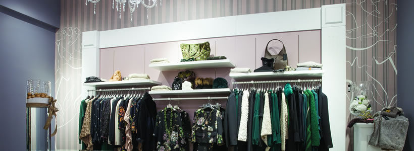 Arkengraf dresses the new Nerodiamante Boutique in Cassino (Frosinone-Italy)