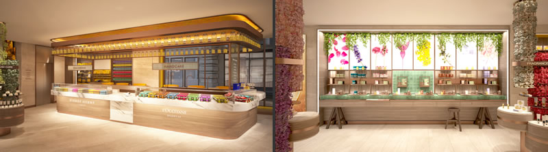 Uxus designs L Occitane Flagship Store on Regent Street