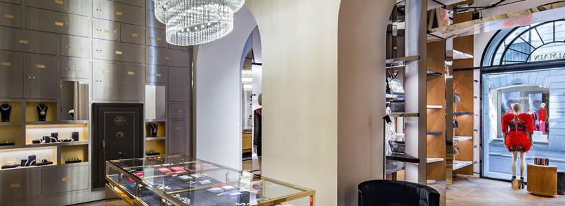 BALMAIN sceglie Milano per l'apertura del primo negozio in Italia.