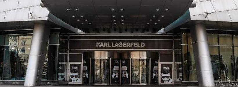 Prima boutique a Mosca per KARL LAGERFELD.